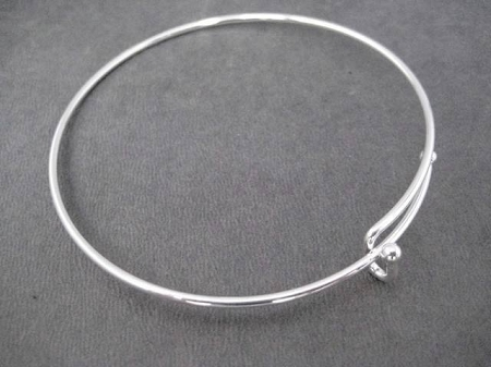 products ballad bangle of pyramid silver bangles good thick img