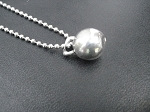 KETTLE BELL WORKOUT Necklace - Pewter pendant priced with Stainless Steel Ball Chain