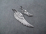 WING Charm Only - LARGE or SMALL
