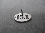 13.1 Pewter Oval Charm only - Add a Charm to your Purchase