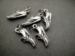 5 Pewter Running Shoe Charms