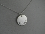 CUSTOM STERLING SILVER NECKLACE - Design your own! - CLICK TO SEE PICTURES OF CUSTOM ORDERS!